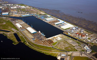 Port of Cardiff aerial photograph
