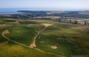 neolithic burial grounds from the air