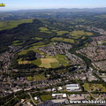Neath South Wales aerial photograph