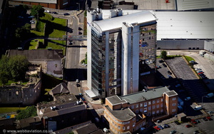 BT Tower , Swansea Wales aerial photograph