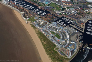 Fishermans Way, Maritime Quarter, Swansea SA1 aerial photograph