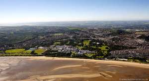Swansea University aerial photograph