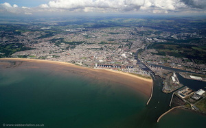 Swansea aerial photograph
