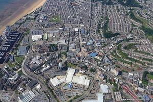 Wind Street Swansea aerial photograph