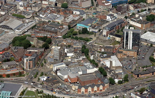 Victoria Road, Swansea aerial photograph