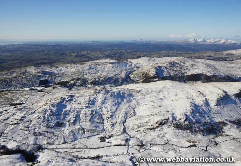 Bannisdale in the Lake District Cumbria UK aerial photograph