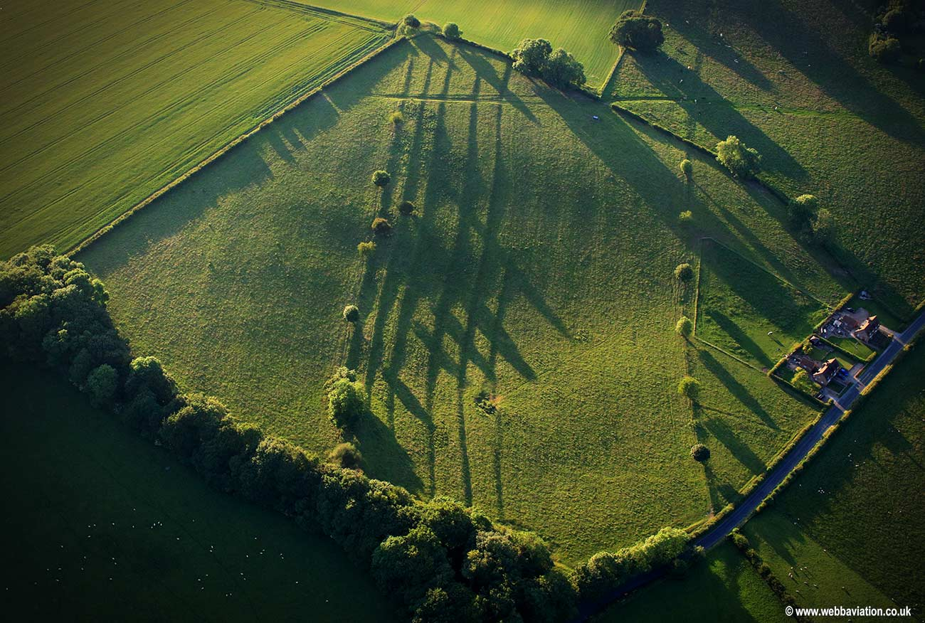 East Yorkshire / Sledmere | aerial photographs of Great Britain by