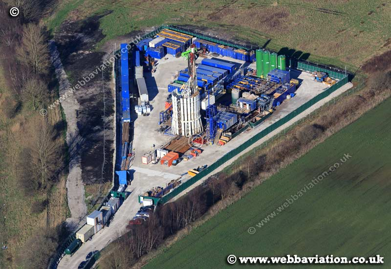 Fracking Barton Moss aerial ic02124