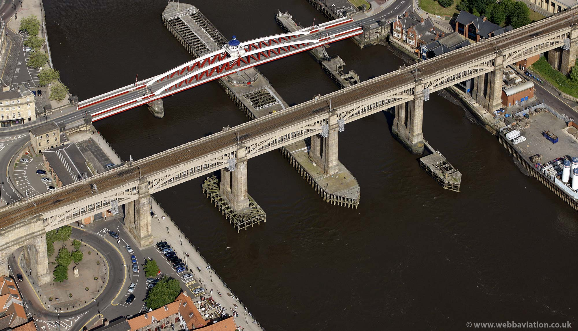 High Level Bridge  Newcastle upon TyneTyne and Wear aerial photograph