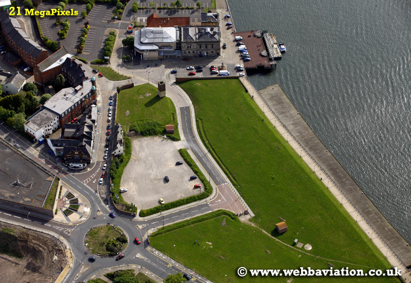 South Shields  aerial photograph