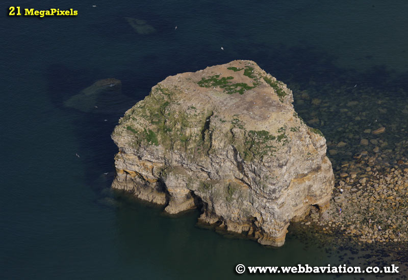 Marsden Rock South Shields   aerial photograph