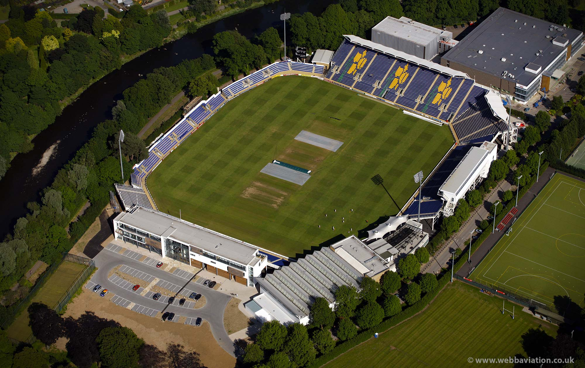 Sophia Gardens cricket ground Cardiff ( SSE SWALEC ) Wales