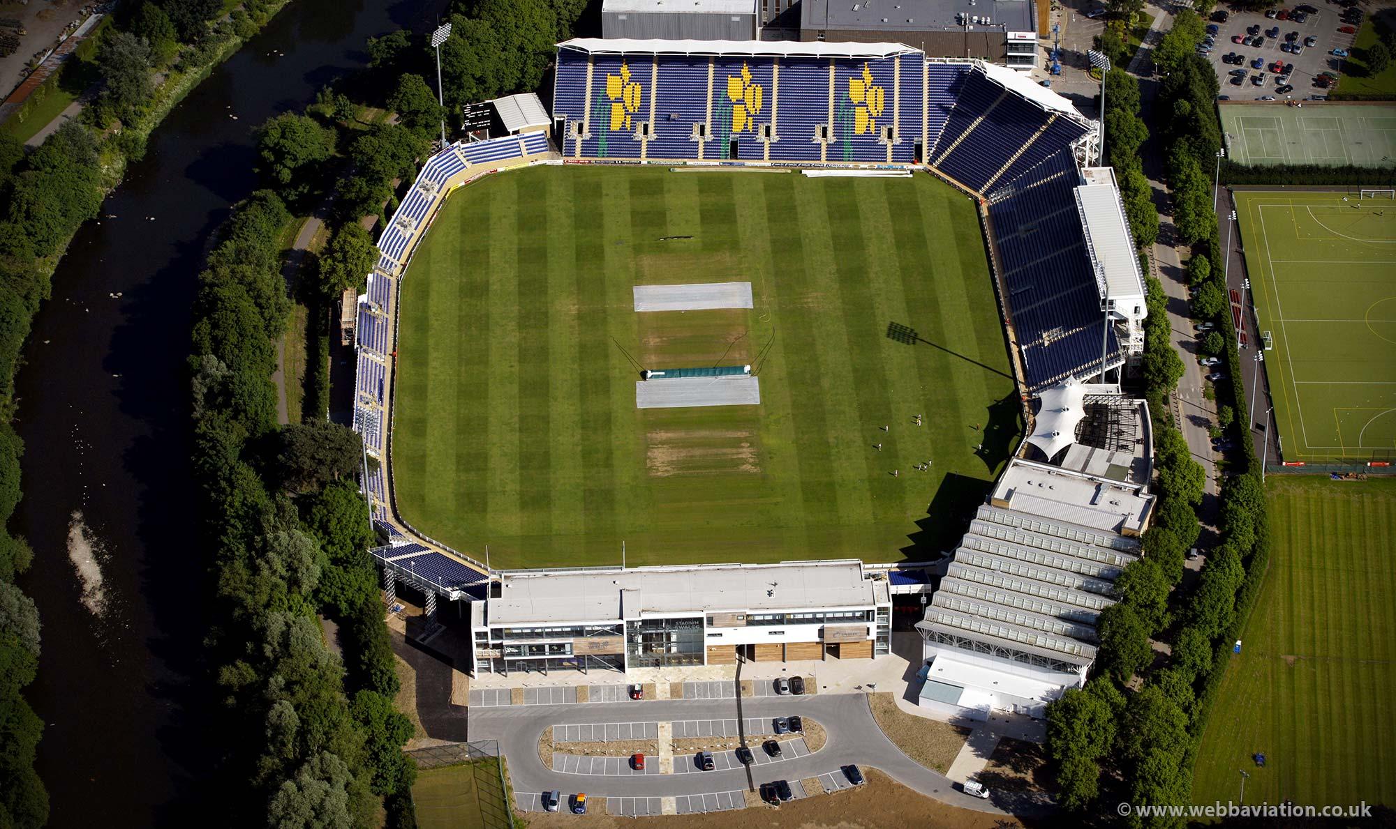 Sophia Gardens cricket ground Cardiff ( SSE SWALEC ) UK