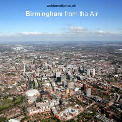 Birmingham from the air