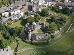 Laugarne Castle Wales