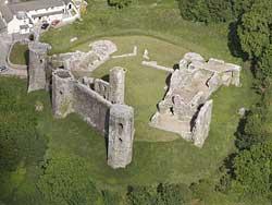 Llawhaden Castle Wales