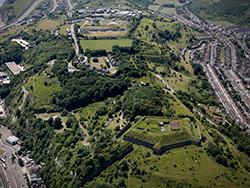 western heights aerial