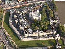 Tower of London aerial photograph